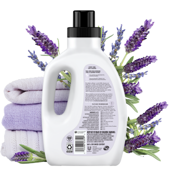 Back of Pack Love Home and Planet Fabric Softener Lavender & Argan Oil